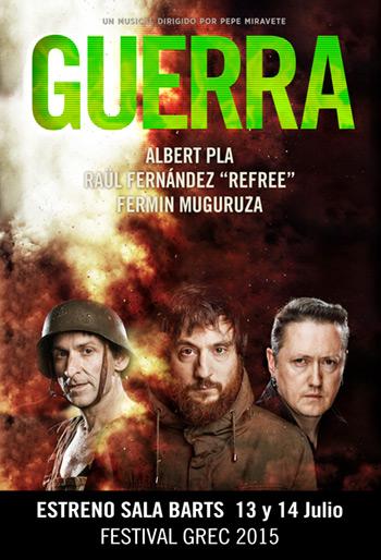 Guerra, el nuevo espectáculo de Albert Pla