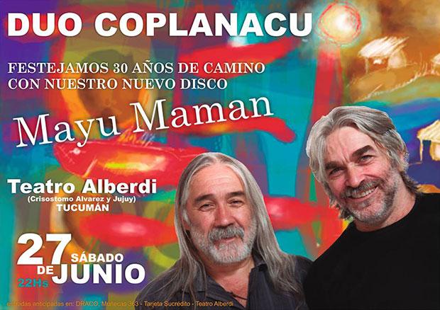 Los Coplanacu salen a tocar su nuevo disco «Mayu Maman».