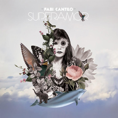 Portada del disco «Superamor» de Fabiana Cantilo.