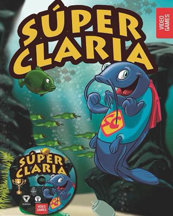 Portada del videojuego «La super claria».