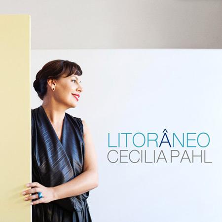 Portada del disco «Litorâneo» de Cecilia Pahl.