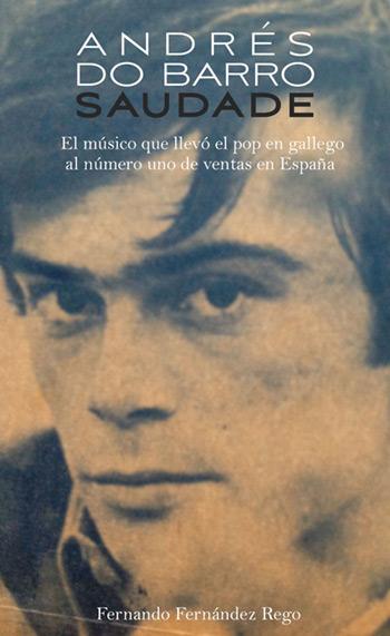 Portada del libro «Saudade» de Fernando Fernández Rego.