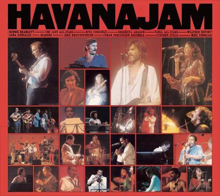 Disco en vivo del «Havana Jam» de 1979.