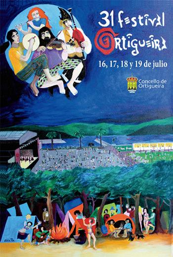 31 Festival Internacional del Mundo Celta de Ortigueira 2015