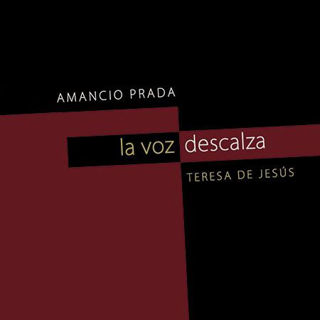 Portada del disco-libro «La voz descalza» de Amancio Prada.