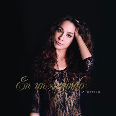Portada del disco «En un segundo» de Daniela Herrero.