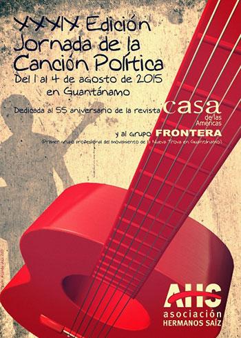 XXXIX edición Jornada de la Canción Política 2015.