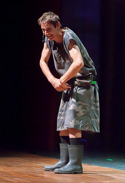Albert Pla, dominio total del escenario. © Xavier Pintanel