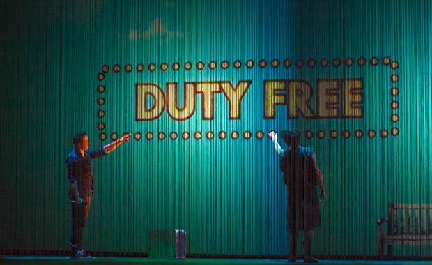 La Libertad identificada como un Duty Free. © Xavier Pintanel