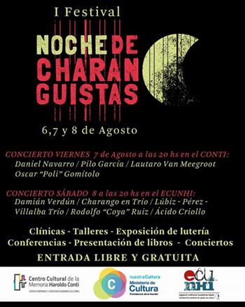 I Festival Noche de Charanguistas