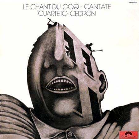 Portada de la edición original de «Del gallo cantor. Cantata» del Cuarteto Cedrón.