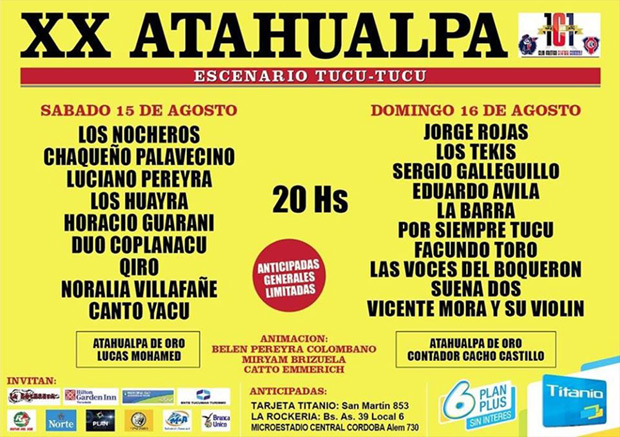 XX Festival Atahualpa 2015