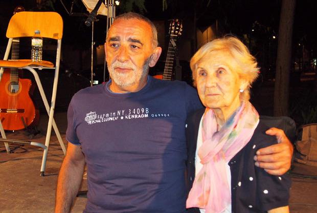 Josep Andújar y Quimeta Serra © Carles Gracia Escarp