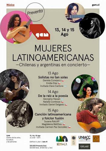 Ciclo de mujeres latinoamericanas