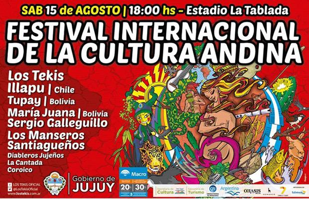 I Festival Internacional de la Cultura Andina, Jujuy 2015.