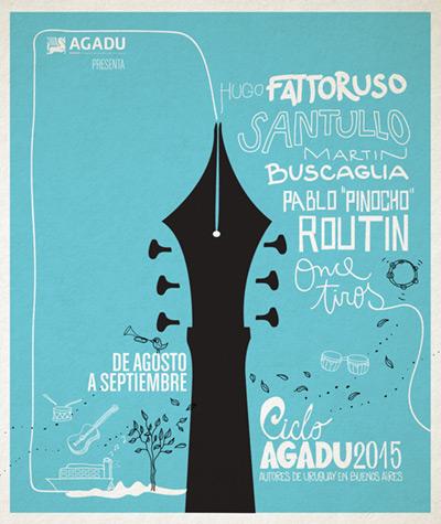 III Autores de Uruguay en Buenos Aires AGADU 2015.