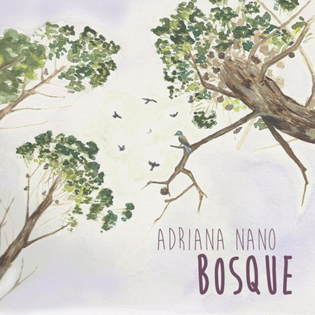 Portada del disco «Bosque» de Adriana Nano.