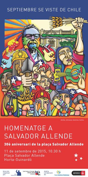Joan Manuel Serrat participará el 11 de septiembre en un homenaje a Salvador Allende.