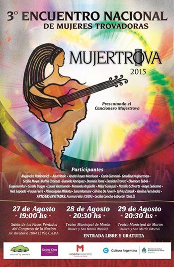 III Encuentro nacional de mujeres trovadoras MujerTrova 2015.