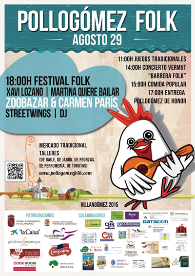 VI festival de folk Pollogómez 2015.