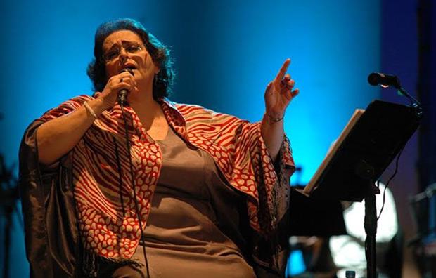 Lilia Vera en el Teatro Municipal de Caracas. © Javier Gracia