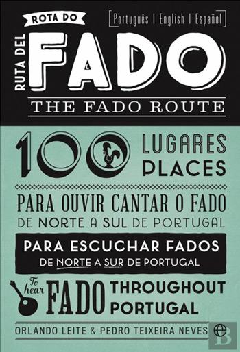 Portada del libro «Rutas del Fado» de Orlando Leite y Pedro Teixeira.