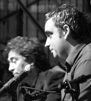 Joaquím Vilarnau a la derecha y Joan Carles Doval a la izquierda. © Xavier Pintanel
