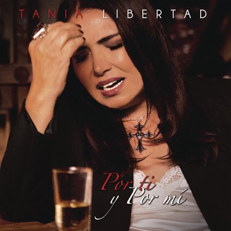 Portada del disco «Por ti y por mí» de Tania Libertad.