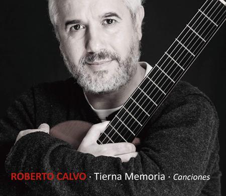 Portada del disco «Tierna Memoria» de Roberto Calvo.