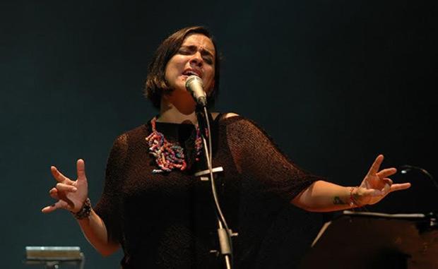 Marta Gómez en la Sala Ríos Reyna del Teatro Teresa Carreño. © Javier Gracia