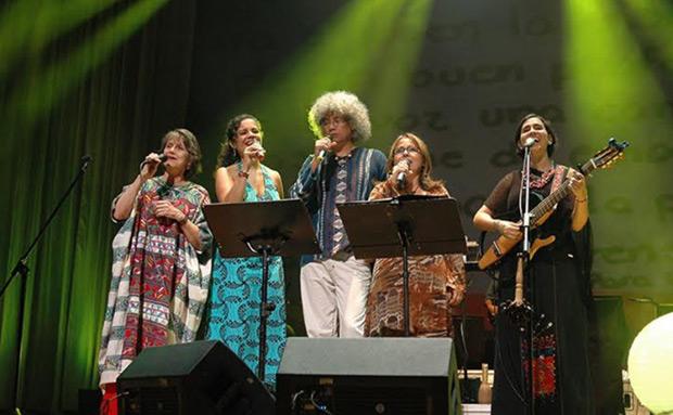 De izquierda a derecha: Cecilia Todd, Fabiola José, Leonel Ruiz, Liuba María Hevia y Marta Gómez. © Javier Gracia