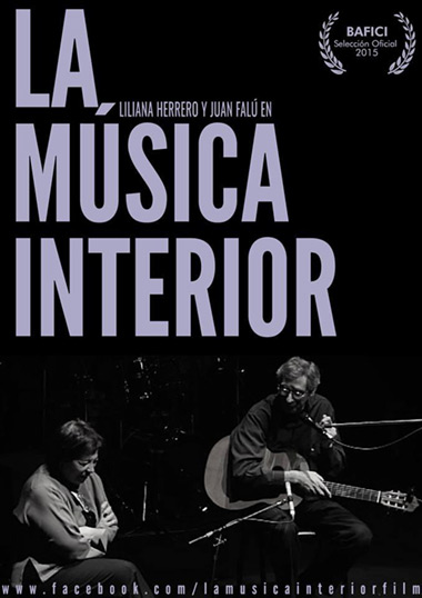 Cartel del documental «La música interior» de Fernando Arca.