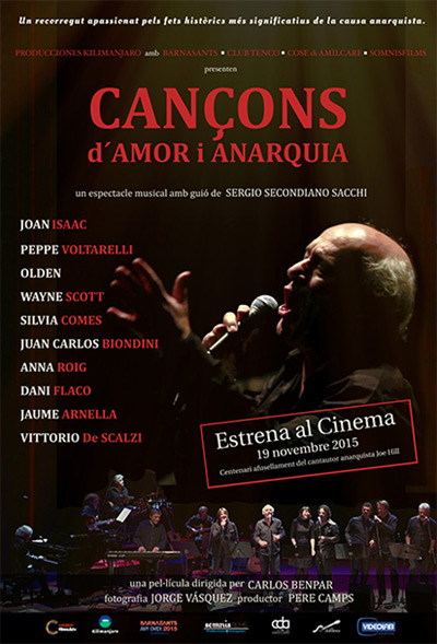 Cartel del documental «Cançons d
