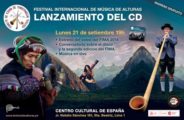Lanzan el primer disco del Festival de Música de Alturas.