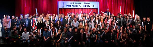 Se entregaron los Diplomas al Mérito de los Premios Konex a la música popular en Argentina.
