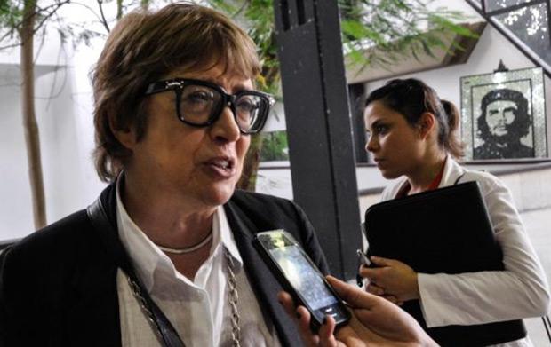 Teresa Parodi, ministra de Cultura argentina en la III Reunión de Ministras y Ministros de Cultura de la CELAC.
