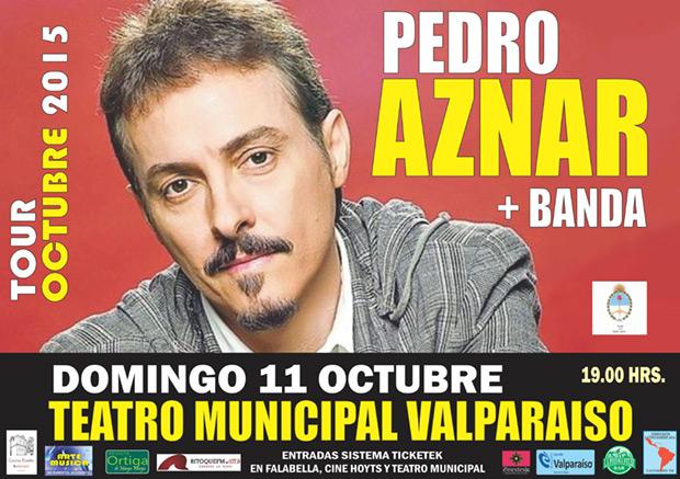 Pedro Aznar en Chile «Tour Octubre 2015».