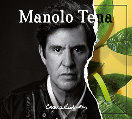 Portada del disco «Casualidades» de Manolo Tena.