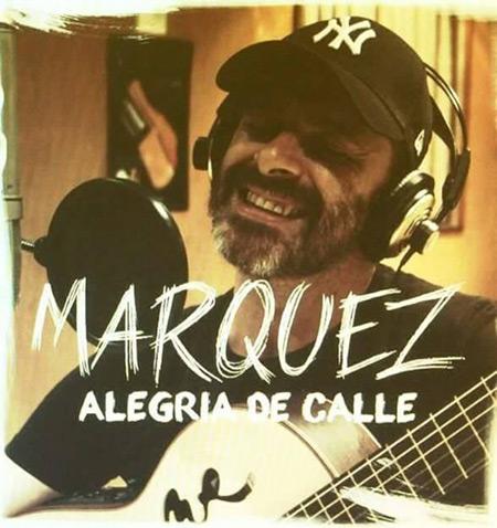 Portada del disco «Alegría de calle» de Jesús Márquez.