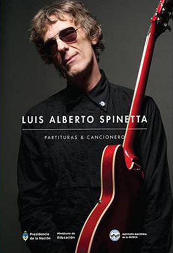 Portada del libro «Luis Alberto Spinetta: partituras y cancionero».