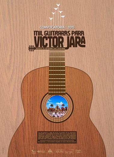 Mil guitarras para Víctor Jara 2015.