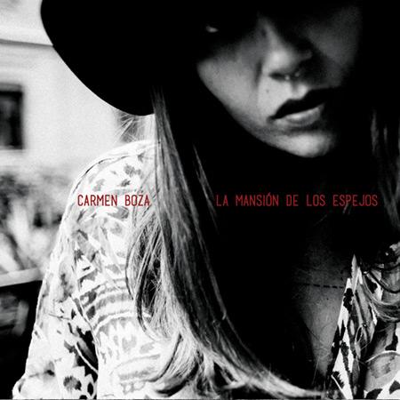 Portada del disco «La mansión de los espejos» de Carmen Boza.