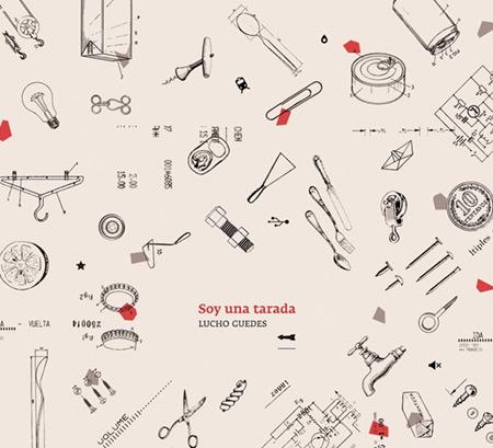 Portada del disco «Soy una tarada» de Lucho Guedes.