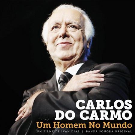 Portada de la BSO de «Carlos do Carmo, un homem no mundo».