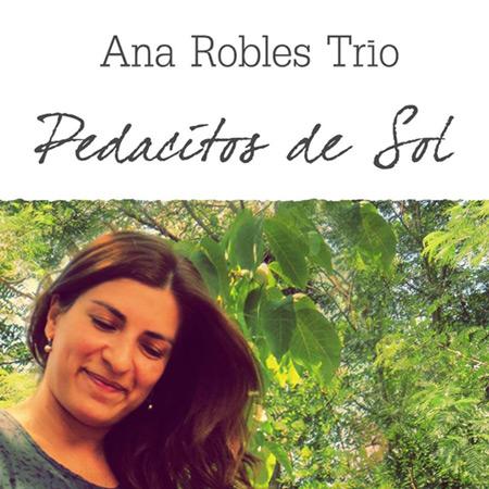Portada del disco «Pedacitos de sol» de Ana Robles.