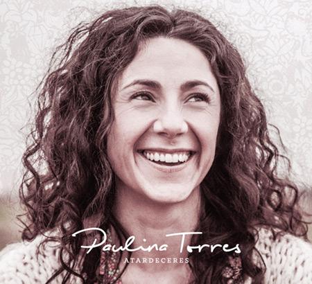 Portada del disco «Atardeceres» de Paulina Torres.