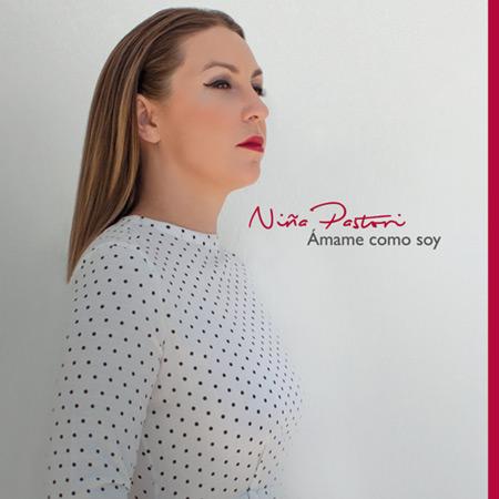 Portada del disco «Ámame como soy» de Niña Pastori.