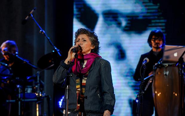Isabel Parra. © Consejo Nacional de la Cultura y las Artes. Gobierno de Chile