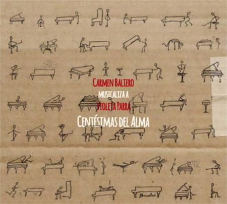 Portada del disco «Centésimas del Alma» de Carmen Baliero.