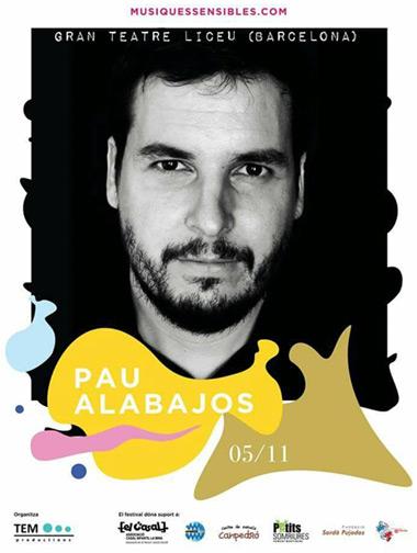 Pau Alabajos cierra su gira #paualpalau en el Liceu de Barcelona.